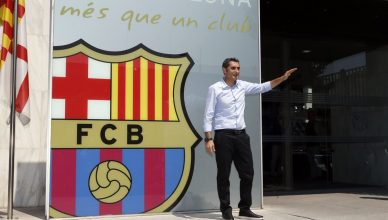 FC Barcelona Unveil New Head Coach Ernesto Valverde 2